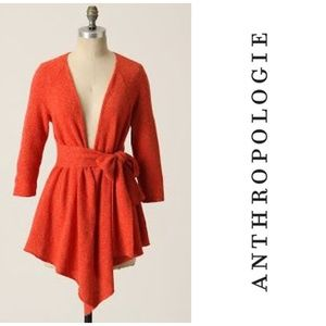 Anthropologie Canary Graceful Point Cardigan
